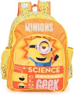 0edc506d64e0 Minion Science Geek School Bag 16 inches 8901736095181 School Bag