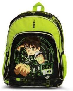 d8793008d7 kidoz kingdom GENIUS SCHOOL BAG BEN10 (NEON GREEN) Backpack