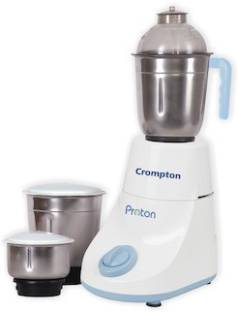 CROMPTON CG-DS53 ACGM-DS53 500 W Mixer Grinder (3 Jars, White)