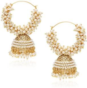 You Bella Fancy Party Wear Jewellery Copper Jhumki Earring