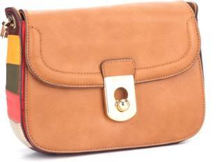 Buy ALDO Sling Bag Black/Fushia/Multi color Sides W/Lt Gold Hw ...