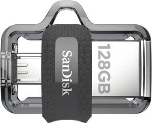 SanDisk Ultra Dual SDDD3-128G-G46/SDDD3-128G-i35 128 GB OTG Drive