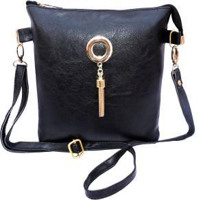 eweft Girls Formal Brown PU Sling Bag Brown - Price in India ... 928de81e3d