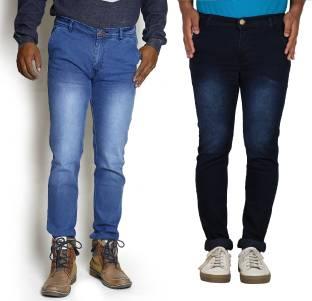 TYCON Slim Men's Black, Light Blue Jeans