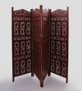 solid wood decorative screen partition