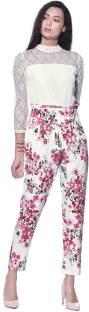 Aayu Floral Print Women's Jumpsuit