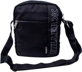 75cfc5307d Killer Men Casual Black Polyester Sling Bag
