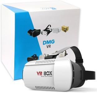 DMG Plastic Version Adjustable VR Virtual Reality Headset 3D Glasses For 4-6 inch Smartphones  (Smart Glasses)