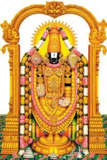 Lord Venkateswara Swamy Paper Print