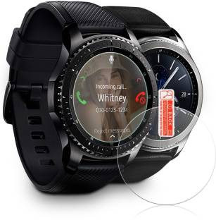iZAP Tempered Glass Guard for Samsung Gear S3 Smartwatch