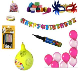 NHR Special Birthday Decoration Kit For Girl 67 Pieces