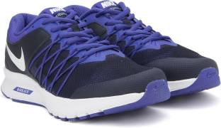 Nike AIR RELENTLESS 6 MSL Running Shoes (White, Blue) at Rs. 3,469