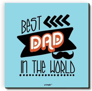 Seven Rays Best Dad In The World Fridge Magnet Pack of 1