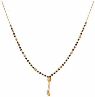 American Diamond Stunning Alloy Mangalsutra Price in India - Buy