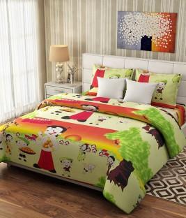 Charmant ATOZ Home Decor Cotton Double Floral Bedsheet