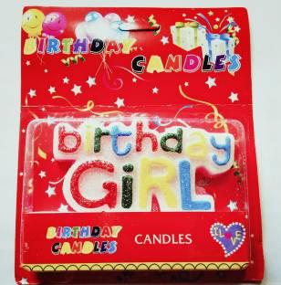 PartyballoonsHK Birthday Girl Candle