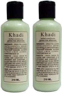 Khadi Herbal Green Tea Aloe Vera Hair Conditioner