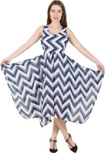 G & M Collections Women's Maxi Multicolor Dress