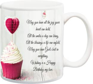 MEYOU Gift For Happy BirthdayMay You Have All The Joy Your Heart Can Hold