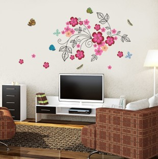New Way Decals Wall Sticker Floral U0026 Botanical Wallpaper Part 66