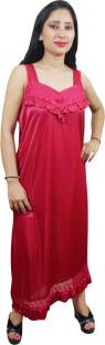 Indiatrendzs Women's Nighty with Robe