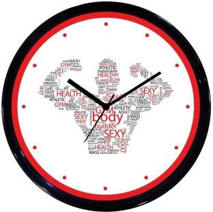 huppmegift analog 28 cm dia wall clock