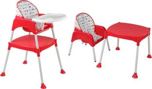 Luvlap 3 In 1 Baby High Chair Red