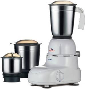 BAJAJ GLORY 410167 500 W Mixer Grinder (3 Jars, White, Black)
