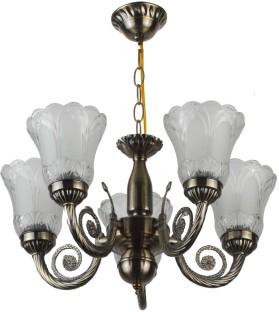 learc antique brass finish chandelier ceiling lamp