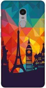 new arrival f6479 86ee5 Wizzart Back Cover for Flower Print Design Mi Xiaomi Redmi Note 4 ...