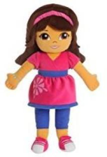Nickelodeon Dora the Explorer Baseball Cap with Faux Hair Dora and Friends NWT