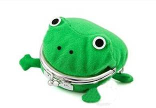 VISKEY Cute Frog Coin Bag Cosplay Props Plush Toy Purse Wallet Funny Gift (  ) - bb7538f5f228