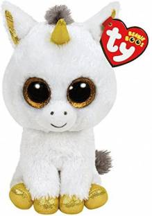 72ac3290ea8 Ty Beanie Boos Rosey - Unicorn Large (Justice Exclusive) - 10 inch ...