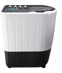 Whirlpool 7 kg 5 Star,Turbo Scrub Technology Semi Automatic Top Load White, Grey