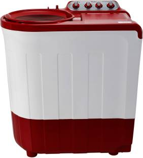 Whirlpool 7.5 kg 5 Star, Supersoak Technology Semi Automatic Top Load Red