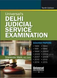 Universal's Delhi Judicial Service Examination 11 Edition