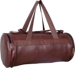 Dee Mannequin Antique Leather Rite Duffle Gym Bag