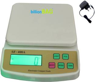 3c80653c5 Billionbag Multi Powered Advanced SF 400A with Adaptor 10 Kg Digital  Household Use And Backlight Weighing