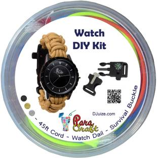 Flipkart buy do it yourself kits toys online at best prices paracraft paracord diy watch kit solutioingenieria Gallery