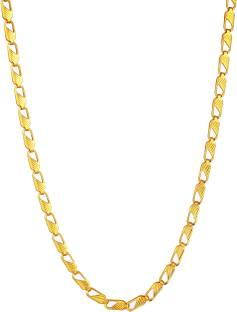 Gold chain for men buy gold chain for men online at best prices in rich famous mens jewellery of 24k yellow gold plated design alloy chain aloadofball Gallery