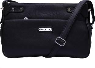 Puma Women Sports Black Polyester Sling Bag Black - Price in India ... 0b54c403423c3