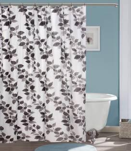 YELLOW WEAVES PVC Shower Curtain 213 Cm 69ft Single