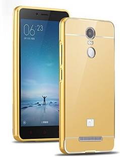 Wow Imagine Back Cover for Premium Luxury Mirror Acrylic back + Metal Bumper Case Cover For