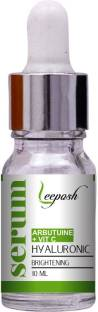 Leeposh Arbutin Whitening Serum With Vitamin C Hyaluronic Acid Derma Roller Solution