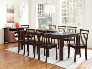 Marvelous FurnCulture Terrassa Solid Wood 8 Seater Dining Set