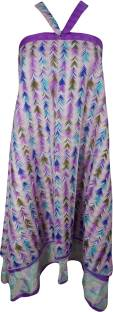 Indiatrendzs Printed Women Wrap Around Multicolor Skirt