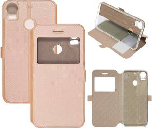 newest 2c50d b0bfd Casotec Flip Cover for HTC Desire 10 Pro