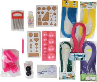 Do it yourself kits toys buy do it yourself kits toys online at am quilling craft complete kit combo materials for jewellery making designing solutioingenieria Image collections