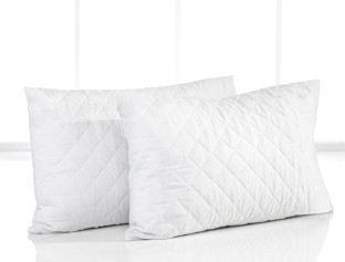 trance quilted polyester filled queen size pillow protector