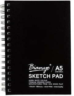 Campap Arto A4 Hard Cover Sketch Book Acid Free Drawing